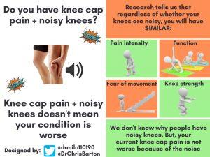 c28f16ae5e Knee crepitus - My knee cap